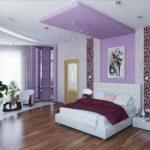 выбрать цвет обоев для спальни