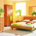 цвет обоев и мебели в интерьере